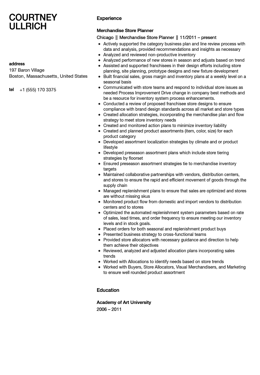 broadcast producer sle resume purchase general