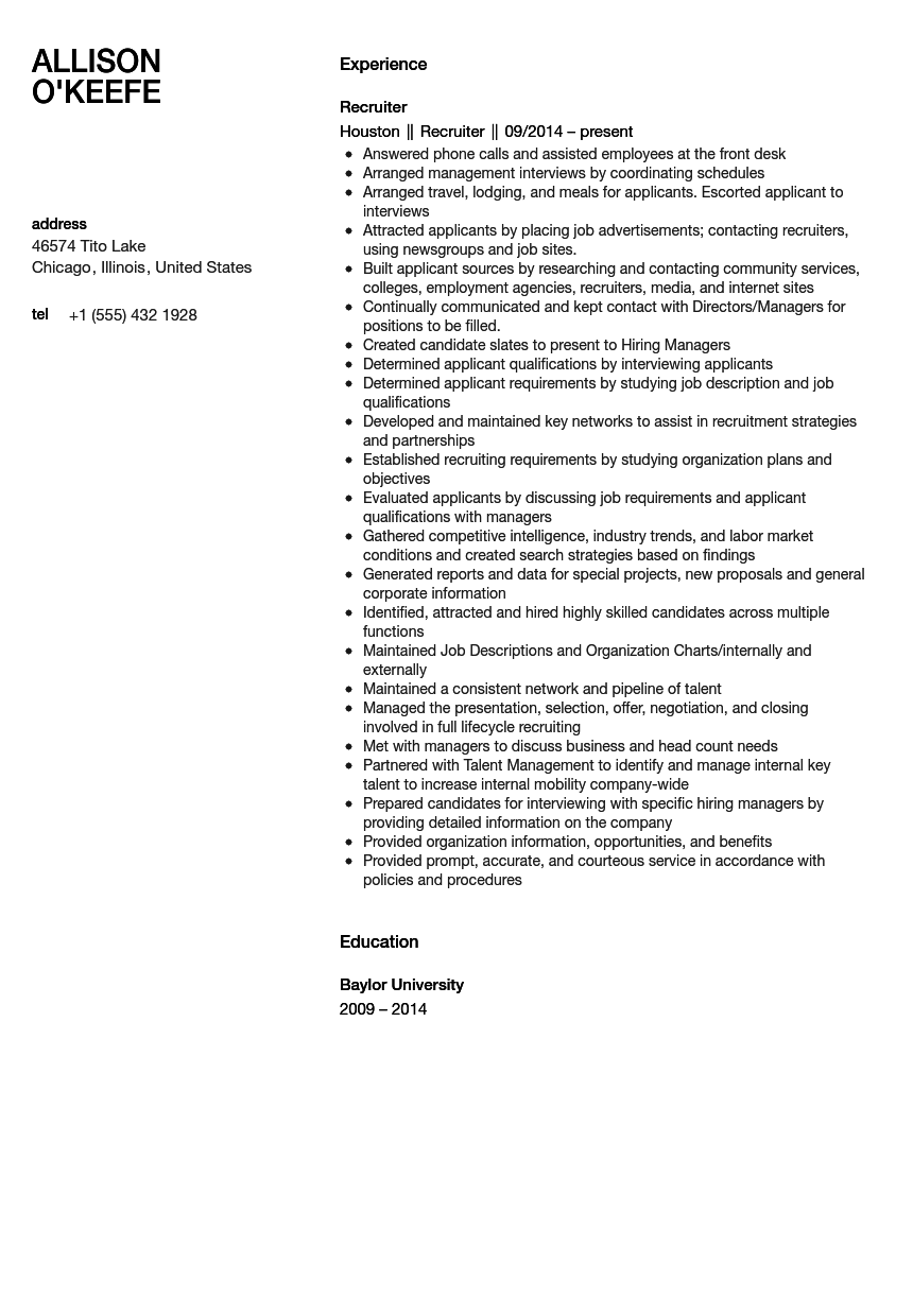 Asg resume and writing services