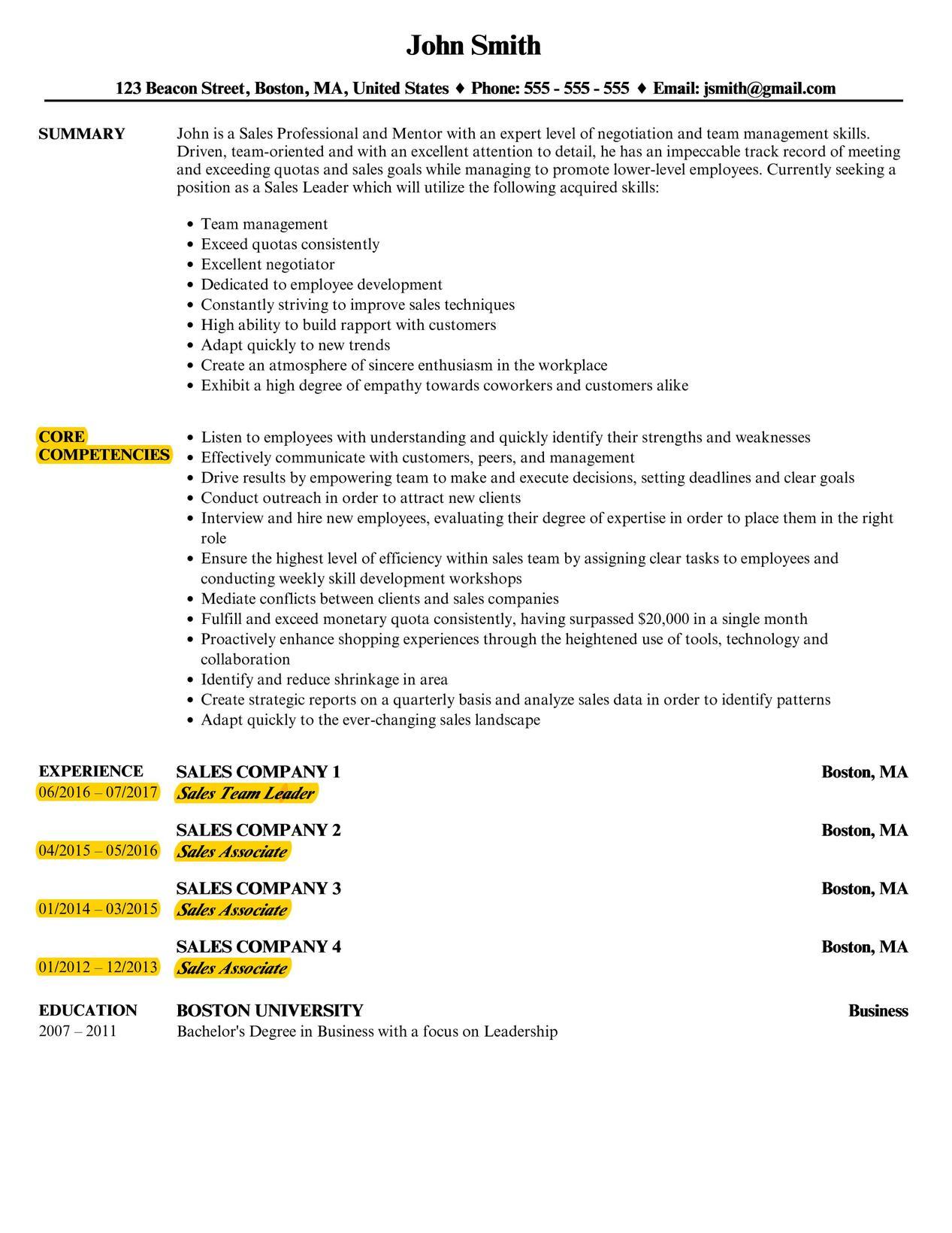 functional resume - How To Complete A Resume